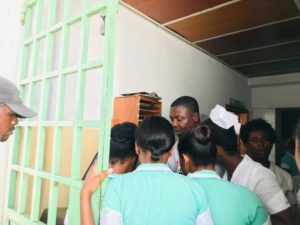 Nurses at Haitian Hospital